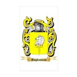 Bogdassian Sticker (Rectangle 50 pk)