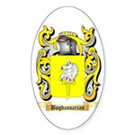 Bogdassarian Sticker (Oval 10 pk)