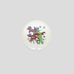 Christmas Fairy Mini Button