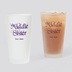 Middle Sister Grunge Purple - Personalized! Drinki