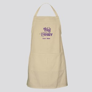 Big Sister Grunge Purple - Personalized Apron