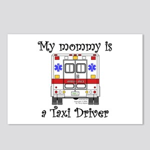 Taxi Driver Mommy Postcards (Package of 8)