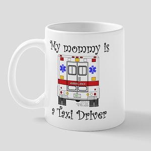 Taxi Driver Mommy Mug