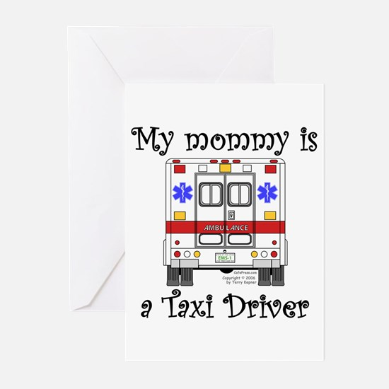 Taxi Driver Mommy Greeting Cards (Pk of 10)