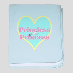 Priceless Princess baby blanket