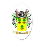 Bogartz Oval Car Magnet