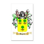 Bogartz Rectangle Car Magnet