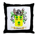 Bogartz Throw Pillow