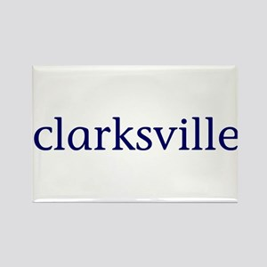 Clarksville Rectangle Magnet