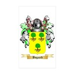 Bogaard Sticker (Rectangle 10 pk)