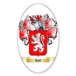 Boff Sticker (Oval 50 pk)