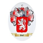 Boff Ornament (Oval)