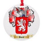 Boeuf Round Ornament