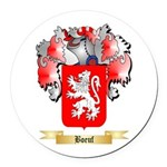 Boeuf Round Car Magnet