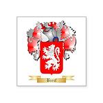 Boeuf Square Sticker 3