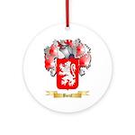 Boeuf Ornament (Round)