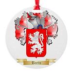 Boetto Round Ornament