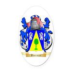 Boerman Oval Car Magnet