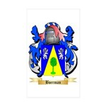 Boerman Sticker (Rectangle 10 pk)