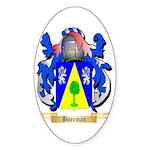 Boerman Sticker (Oval 10 pk)