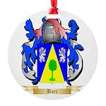 Boer Round Ornament