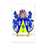 Boer Rectangle Car Magnet