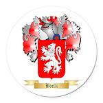 Boelli Round Car Magnet