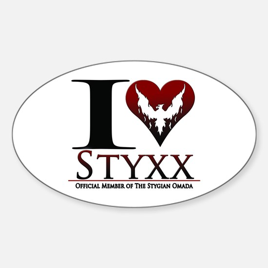I Heart Styxx Decal