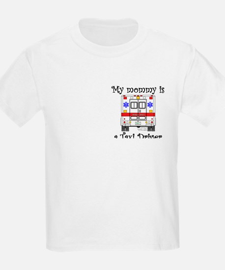 Taxi Driver Mommy Kids T-Shirt