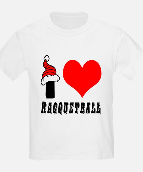 I Love Racquetball T-Shirt