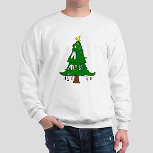 Fencing Christmas Sweatshirt