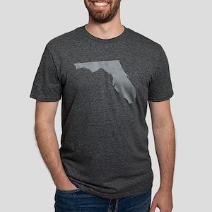 Florida State Shape Outline Mens Tri-blend T-Shirt