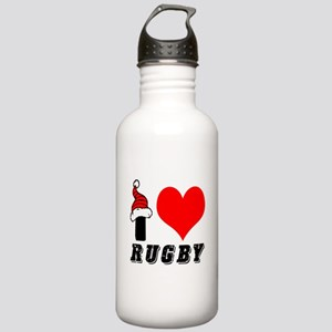 I Love Rugby Stainless Water Bottle 1.0L