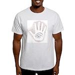 Earthy Petro EyeHand Ash Grey T-Shirt