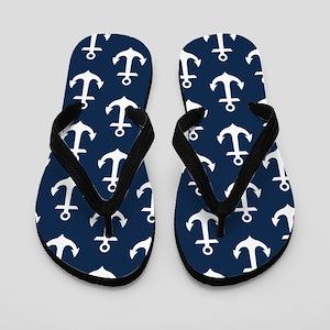 Anchor Me Flip Flops