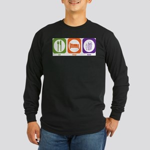 Eat Sleep Taxes Long Sleeve T-Shirt