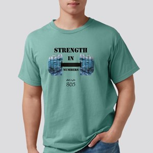 805 Ride or Die Mens Comfort Colors Shirt