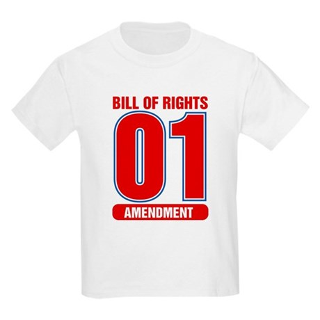 1st Amendment Team Kids T-Shirt