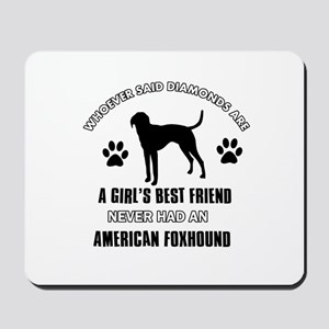 American Foxhound Mommy designs Mousepad