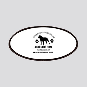 American Staffordshire Terrier Mommy designs Patch