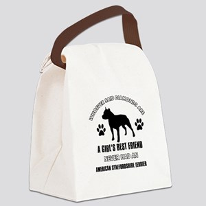 American Staffordshire Terrier Mommy designs Canva