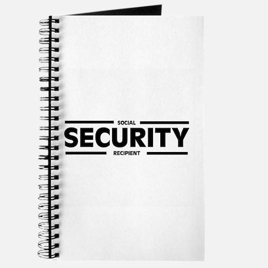 Social SECURITY Recipient Journal