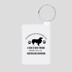 Australian Shepherd Mommy designs Aluminum Photo K