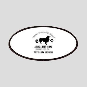 Australian Shepherd Mommy designs Patches