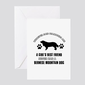 Bernese Mountain Mommy designs Greeting Card