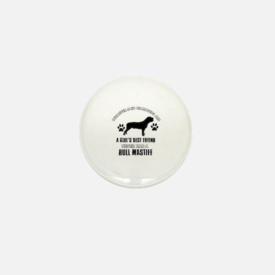 Bull Mastif Mommy designs Mini Button