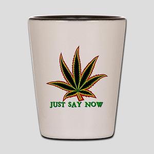 Marijuana Shot Glass