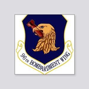 "96th Bomb Wing Square Sticker 3"" x 3"""