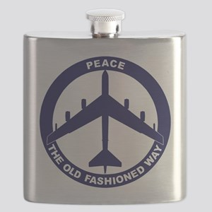 B-52G Peace Sign Flask