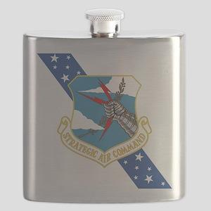 SAC Banner Flask